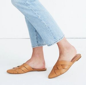 Madewell Cindy Mules in brown